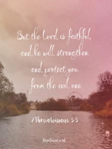 2 Thessalonians 3-3