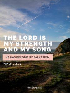 PSALM 118-14